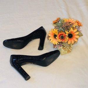 NIB Prada Crocodile heels